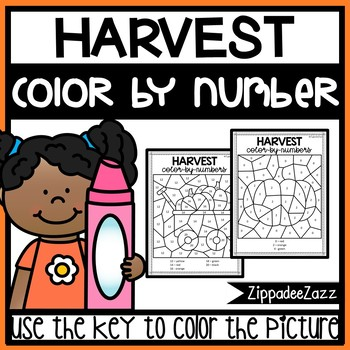 Harvest Color by Numbers