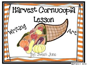Free Harvest Cornucopia Lesson