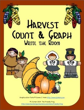 Harvest Count & Graph: Write the Room