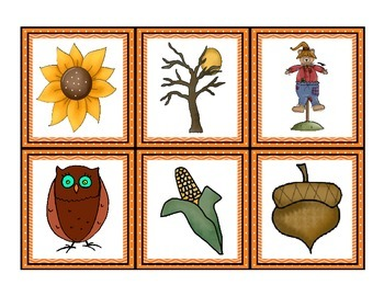 Harvest Fall Bingo 5x5 Boards 30 Unique Cards Classroom Party Game