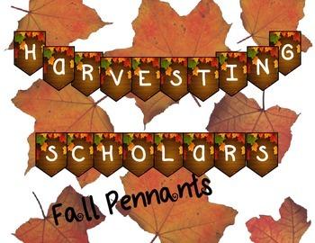 Harvest Fall Pennants