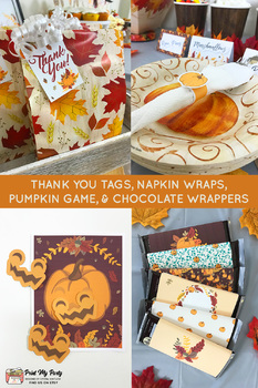 Harvest Festival Printable Party Bundle