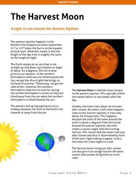 Harvest Moon Science - Fall/ Autumn STEM Activities