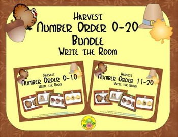 Harvest Number Order 0-20 Bundle