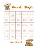 Harvest Party Bingo