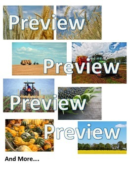 Farming Harvest Photographs