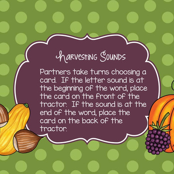 Harvest Sounds