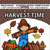 Harvest Time (5-day Thematic Unit) Includes Patterns and P
