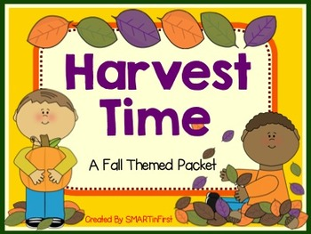 Harvest Time Activity Packet