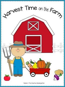 Harvest Time {Emergent Reader-Pocket Chart-Math mini-Pack}