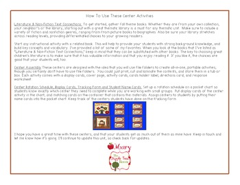 Fall Math and ELA Center Activities {CCSS}