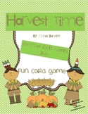 Harvest Time Telling Time Game