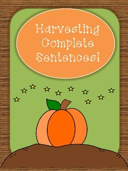 Harvesting Complete Sentences