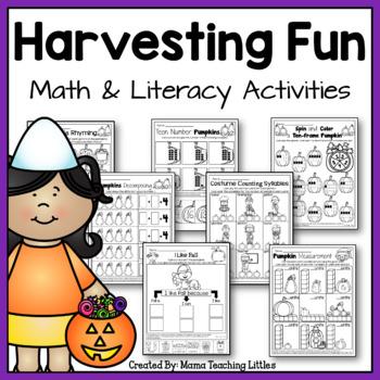 Harvesting Fun Bundle - No Prep - Just Print