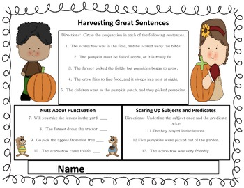 Harvesting Great Sentences a Grammar Review