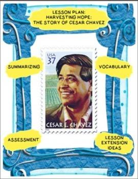 Harvesting Hope: Cesar Chavez Lesson Plan and Prezi