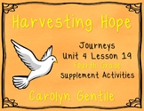 Harvesting Hope Journeys Unit 4 Lesson 19 Fourth Grade Supp. Act.