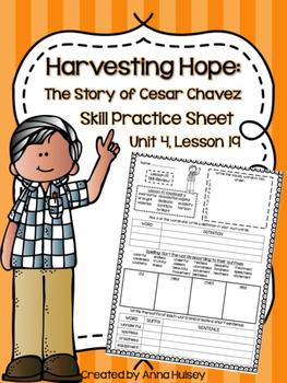 Harvesting Hope (Skill Practice Sheet)