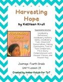 Harvesting Hope Supplemental Activities 4th Grade Journeys Unit 4, Lesson 19