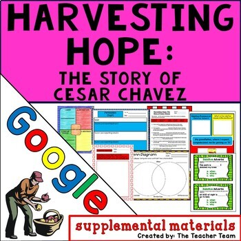 Harvesting Hope: The Story of Cesar Chavez Journeys 4th Unit Lesson 19 Google