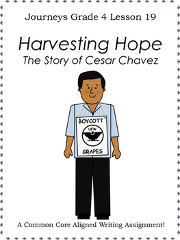 Harvesting Hope:  The Story of Cesar Chavez--Writing Promp