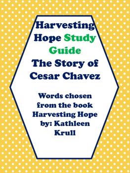 Harvesting Hope Vocabulary