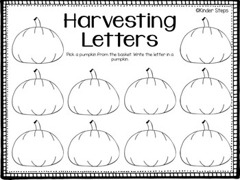 Harvesting Letters