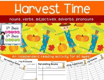 Harvesting Parts of Speech
