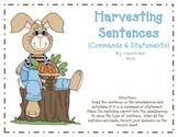 Harvesting Sentences (Commands & Statements)