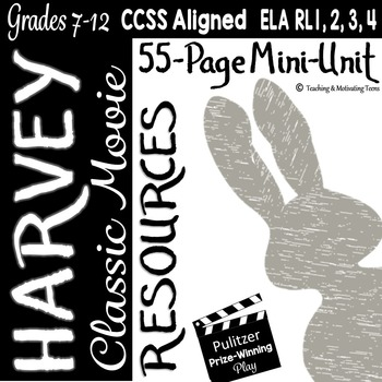 Harvey Classic Movie Lesson Resources for Middle and High School