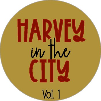 Harvey In the City Fonts Vol. 1
