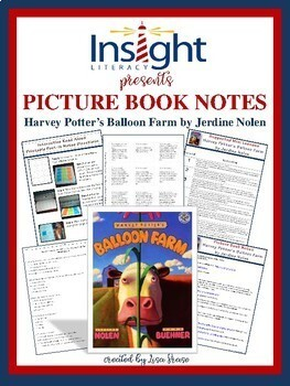 Harvey Potter's Balloon Farm Picture Book Notes