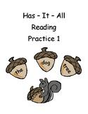 Has It All Reading Practice 1