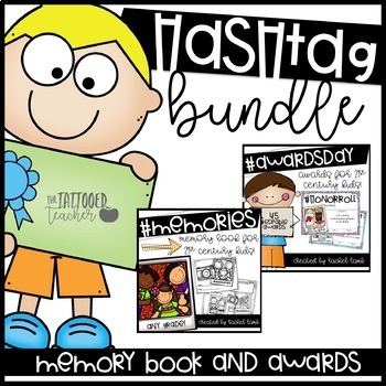Hashstag End of the Year Awards and Memory Book bundle! #isitJuneyet