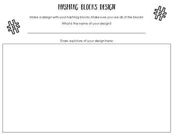 Hashtag Blocks Mini Unit