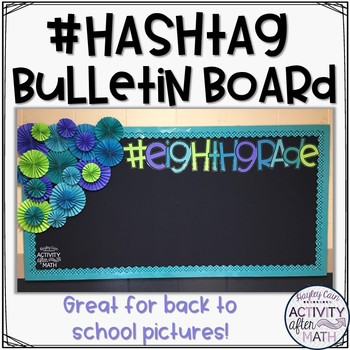 Hashtag Bulletin Board Kit