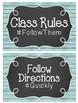 Hashtag Class Rules