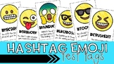 Hashtag Emoji Test Tags {*Easy Print Out*}
