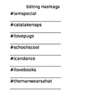Hashtag Fun!