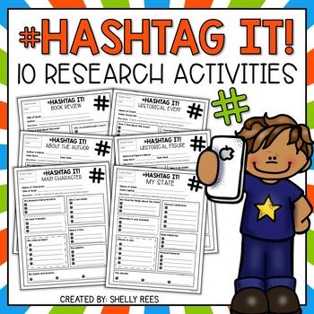 Reading Activity - Hashtag It!