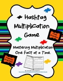 Hashtag Multiplication Game/ Free Preview