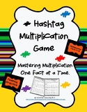 Hashtag Multiplication Game, Tables 7-12
