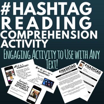 Hashtag Reading Comprehension Activity