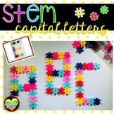 Hashtag Stem Alphabet Letters