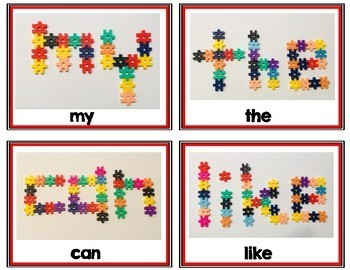 Hashtag Stem Sight Words