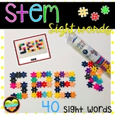 Hashtag Stem Sight Words Literacy Centers