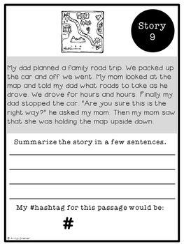 Hashtag Story Summaries