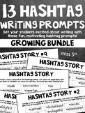 Hashtag Writing Prompts- Growing Bundle