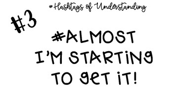Hashtags of Understanding Posters