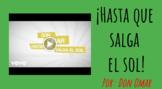 Hasta Que Salga el Sol Music Video Vocabulary Activities